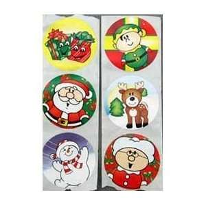 Christmas Holiday Stickers (100/PKG) Toys & Games