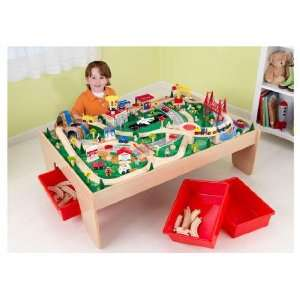 Waterfall Mountain Train Set and Table By Kidkraft: Toys & Games