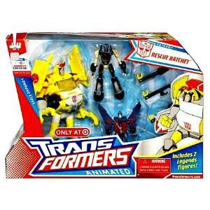 com ransformers Animaed Deluxe Class   Rescue Rache oys & Games