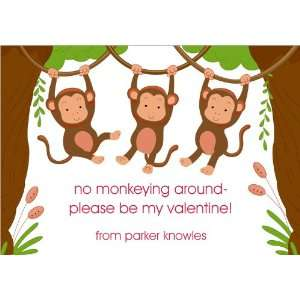 No Monkeying Valentine Cards