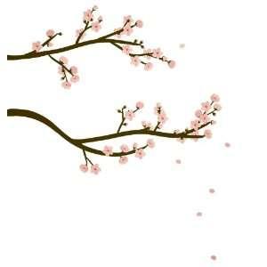 Wall Hugs Cherry Blossom Wall Decal