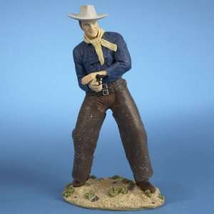 Mache John Wayne Western Cowboy Table Top Figure