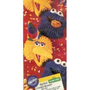 Wilton Big Bird and Cookie Monster Mini Muffin Brownie Cake Pan