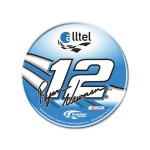 #12 Ryan Newman 3 Inch Round Domed Decal Everything Else
