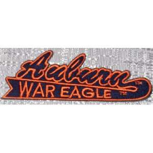 Auburn University Tigers War Eagle Embroidered PATCH