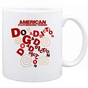 New  American Staffordshire Terrier Dog Addiction  Mug Dog