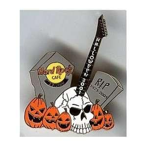 Hard Rock Cafe Pin 1126 Beijing 2001 Halloween Skull
