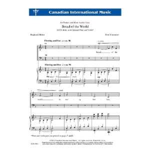 Bread of the World (Sacred Anthem, SATB): Ron Klusmeier