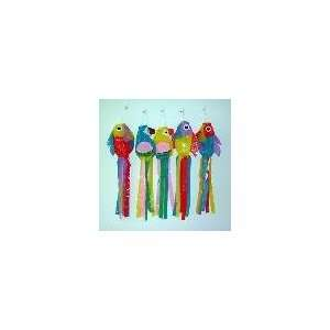 Assorted Color Bird Wind Ornaments  Case of 72 Patio