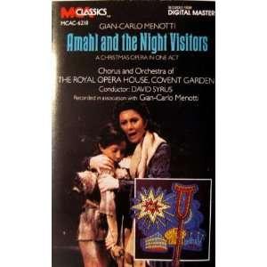 Amahl & The Night Visitors Menotti, Syrus, Royal Opera
