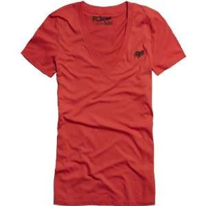 Girls Short Sleeve Casual Wear Shirt/Top   Color Rio Red, Size