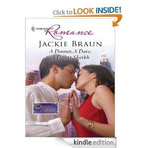 Dinner, A Date, A Desert Sheikh (Harlequin Romance): Jackie Braun