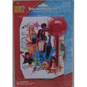 Disney High School Musical 2 Diary with Marabou Pen
