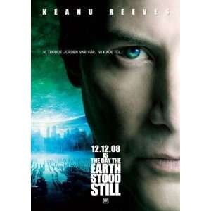 THE DAY THE EARTH STOOD STILL ORIGINAL MOVIE POSTER