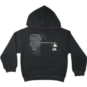 Black AC MLB Change Up Hooded Fleece Sweatshirt