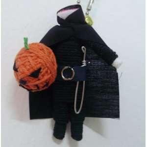 Headless Horseman Skyrim Voodoo String Doll Keychain