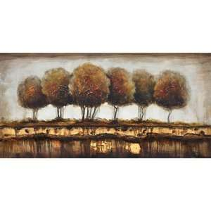 Yosemite Home Decor FCB4551Q 1 Talking Trees Hand Painted