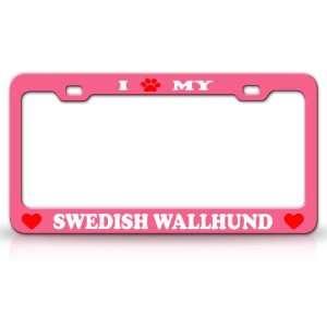 PAW MY SWEDISH WALLHUND Dog Pet Animal High Quality STEEL /METAL Auto