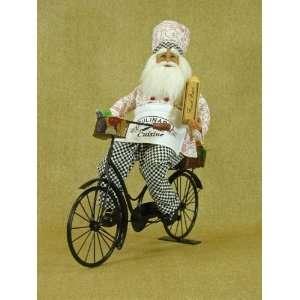 Santa Claus by Karen Didion originals Biking chef Santa 17