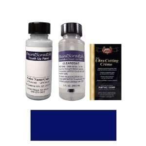 1 Oz. Deep Wedgewood Blue Metallic Paint Bottle Kit for