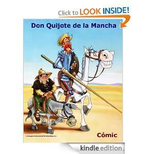 DON QUIJOTE DE LA MANCHA   Cómic Book (Spanish Edition) [Kindle