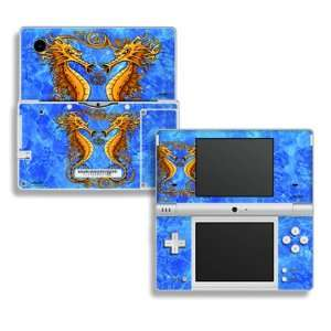Sea Horses Design Decorative Protector Skin Decal Sticker for Nintendo