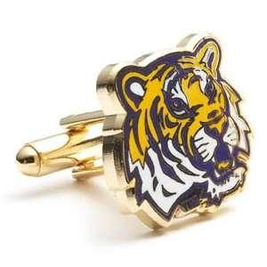 Louisiana State Fightin Tigers NCAA Logod Executive Cufflinks w