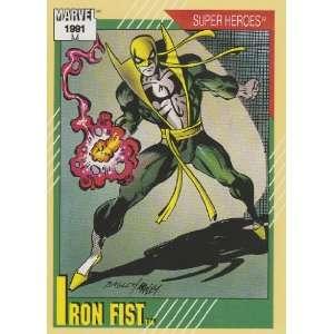Iron Fist #28 (Marvel Universe Series 2 Trading Card 1991