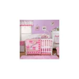 Oh, the Places Youll Go Pink   4 Pc Baby Girl Crib Bedding Baby