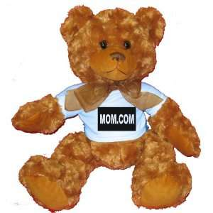 MOM Plush Teddy Bear with BLUE T Shirt Toys & Games