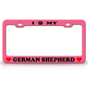 I PAW MY GERMAN SHEPHERD Dog Pet Animal High Quality STEEL