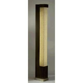 Bella Striped Wood & Milena Shade Floor Lamp: Home
