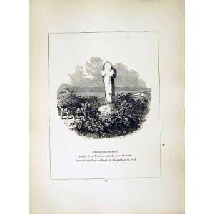 1856 Cross Cornwall Tremethuck Madron Rose An Beagle:  Home