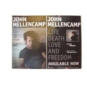 John Mellencamp Poster Life Death Love And Cougar