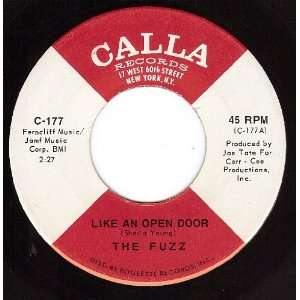 Like An Open Door/Leave It All Behind Me (NM 45 rpm): The Fuzz: Music