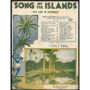 Song Of The Islands (Na Lei O Hawaii): Chas E. (Music