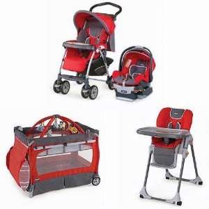 Chicco Matching Stroller System High Chair and Play Yard