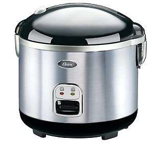 Oster Inspire Stainless Steel Rice Cooker/ Food Steamer   QVC