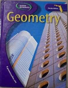 Glencoe Mathematics Geometry Textbook Homeschool Book