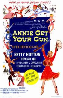 Annie Get Your Gun Movie Posters From Movie Poster Shop