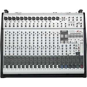 Phonic POWERPOD K 16 PLUS 1000W 16 Channel Powered Mixer w/ graphic EQ