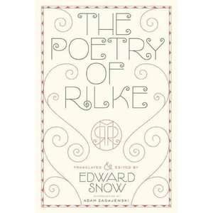 The Poetry of Rilke, Rilke, Rainer Maria: Literature
