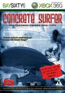 Concrete Surfer   Skateboard Tricks And Tips (DVD)   Compare Prices