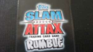 WWE SLAM ATTAX RUMBLE LEGENDS CARDS, CHOOSE WHICH CARD YOU WANT, NEW