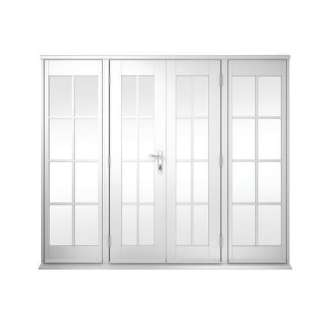 Exterior french doors on popscreen for Georgian french doors exterior