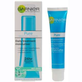 Garnier Pure Anti Blemish Moisturiser 40ML at Superdrug