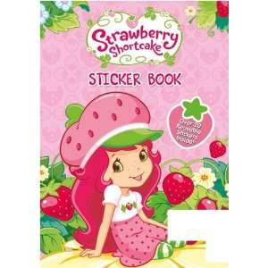 STRAWBERRY SHORTCAKE STICKER BOOK  Toys & Games