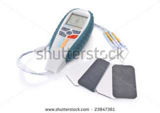 stock photo : Electro Stimulation equipment used for sports fitness