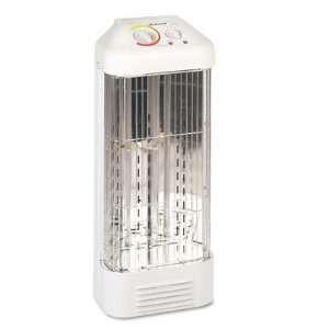Quartz 1500W Fan Forced Heater, Enamel Steel, 10w x 8d x