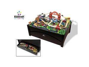 Newegg   KidKraft Metropolis Train Set on Table